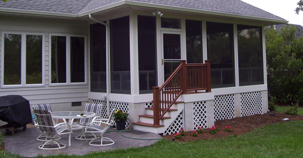 Sliding Porch Panels Rbm Remodeling Solutions Llc
