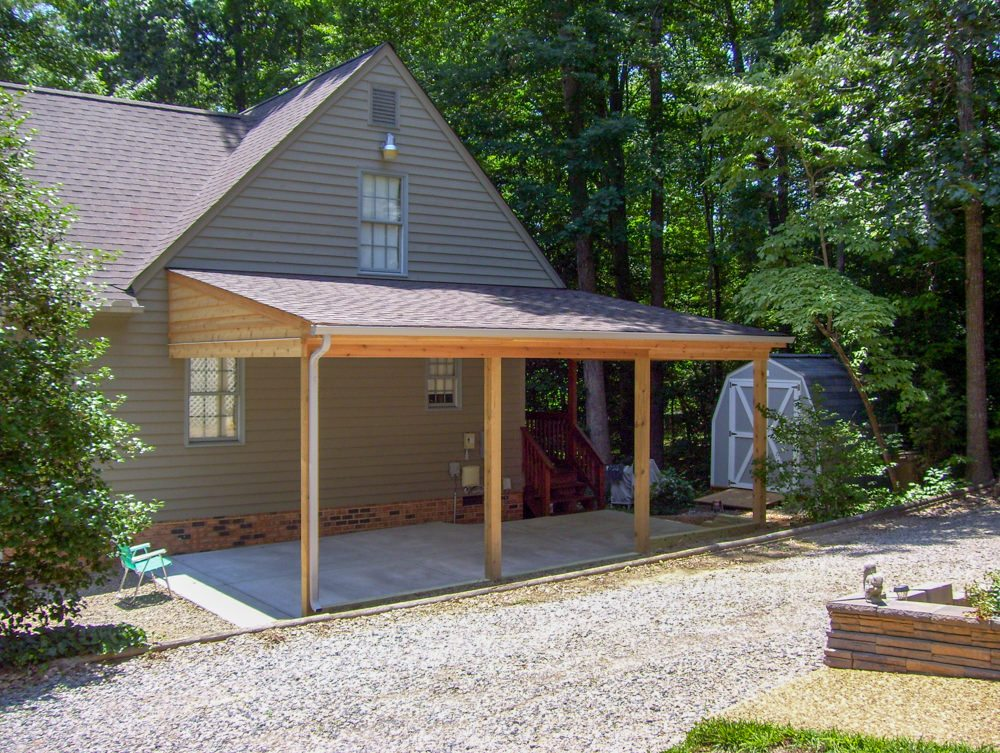 Attached Carport Photos Rbm Remodeling Solutions Llc