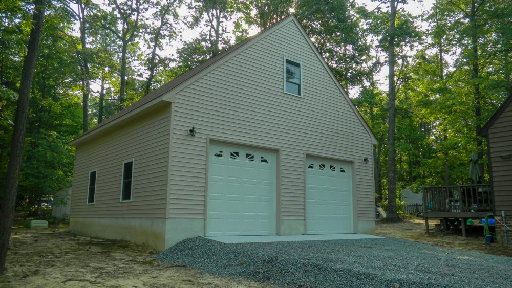 Completed 30 X 30 Garage Photos In Chesterfield Va Rbm Remodeling Solutions Llc