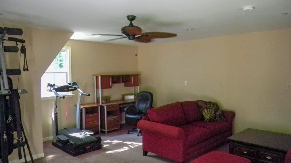 before and after photos of garage remodel to living space rbm remodeling solutions llc. Black Bedroom Furniture Sets. Home Design Ideas