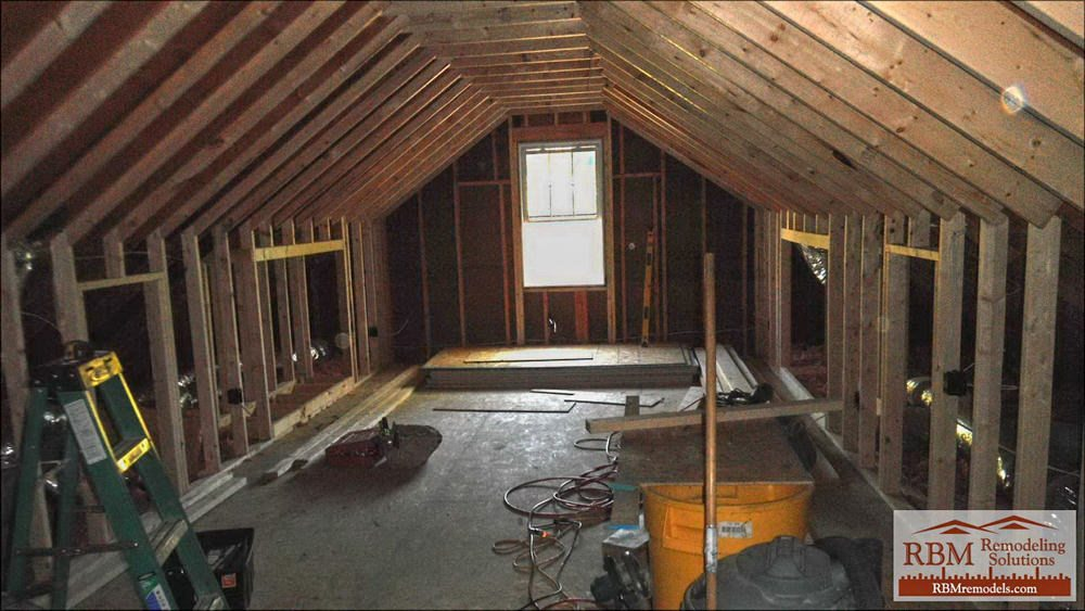 Remodel Attic Space